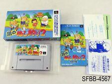 Complete Kawa no Nushi Tsuri 2 Super Famicom Japanese Import CIB SFC US Seller B