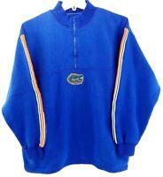 FSU Pullover Sweatshirt Florida Gators NCAA Men's 1/4 Zip Blue Size XL