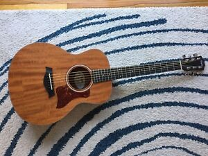 Taylor Gs Mini Acoustic Guitar With Original Case