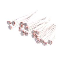 20Pcs 5mm 5549 Photo Light Sensitive Resistor Photoresistor Optoresistor LC