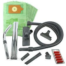 HENRY HETTY NUMATIC Hoover Vacuum Hose Rods Tool Kit 3 Metre + 10 Bags + Fresh