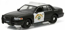 Greenlight 1/64 CHP California Highway Patrol 2008 Ford Crown Vic Police Car