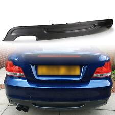 Carbon P Style Rear Bumper Diffuser For BMW E82 M Sport Dual Exhaust