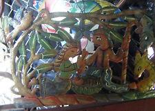Nativity Metal Decor, Haitian Paintings Hanging Wall Art Large Wall Hangings