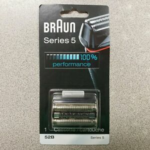 NEW Braun 52B Series 5 Electric Foil Shaver Replacement Blade Cassette Head OEM