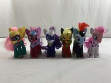 "My Little Pony MLP Large 6"" Fashion Style POWER PONIES G4 Complete 6 Pack"