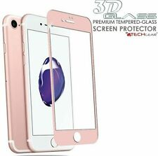 Tempered Glass Pink Mobile Phone Screen Protectors for Apple