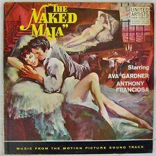 La Maja nue 33 tours Ava Gardner Angelo Francesco Lavagnino 1959