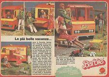 X9508 BARBIE - Le più belle vacanze... - Pubblicità 1977 - Advertising