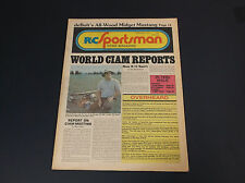 VERY COLLECTIBLE FEB 1978 R/C SPORTSMAN NEWS MAGAZINE W/PLANE PLANS *G-COND*