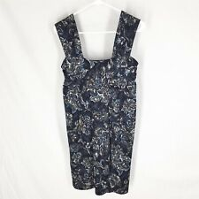 ANN TAYLOR LOFT DRESS SMALL NEW WITH TAGS Sleeveless Stretch Floral Blue NWT