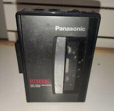 WALKMAN Panasonic RQ-L305 One touch Recording AM/FM STEREO RADIO CASSETTE PLAYER