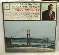 Vintage Tony Bennett - I Left Me Heart In San Francisco - Vinyl LP