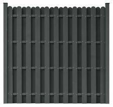 0,8 x 4m braun B-Ware Vorführer Sichtschutzmatte Zaunsichtschutz PVC ca
