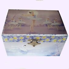 BEAUTIFUL Ballerina Musical Jewellery Box Ballet Dancer Foil Music Girl's Gift