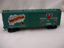 ATHEARN 1996 CHOO-CHOO BARN CHRISTMAS BOX CAR HO SCALE