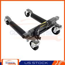 1500 Lbs Wheel Dolly Hydraulic Foot Pump Heavy Duty Positioning Tire Lift Jack