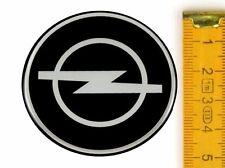 OPEL ★ 4 Stück ★ SILIKON Ø50mm Aufkleber Emblem Felgenaufkleber Radkappen