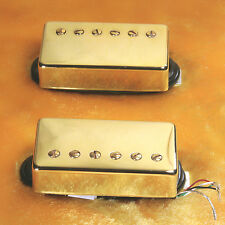 Lindy Fralin Pure P.A.F. Custom 5% OVER  Pickups GOLD Covers 4 Cond Leads