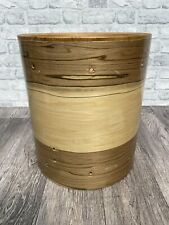 """More details for sonor force 2001 floor tom drum shell 14""""x16"""" bare wood project / upcycle"""