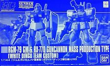 HGUC gym and Guncannon mass production type White Dingo Corps specifications