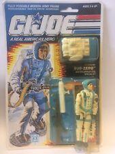 G.i Joe ARAH Sub zero 1989 MOSC MOC.