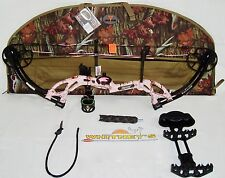 Fred Bear 2017 Cruzer G2 Spark Bow Pink Right Hand Package  5-70# 12-30""