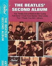 The Beatles The Beatles' Second Album  CASSETTE ALBUM CAPITOL USA ISSUE