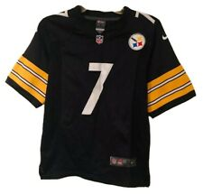 Pittsburgh Steelers #7 Ben Roethlisberger NFL Nike On Field Youth Jersey Small 8
