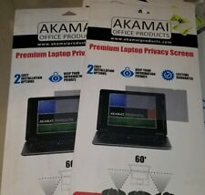 2 pack Akamai Premium Laptop Privacy Screen 14.0  Inch 2 packages combo NEW