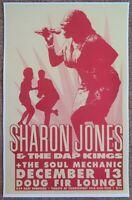 SHARON JONES & DAP KINGS 2005 Gig POSTER Portland Oregon Concert