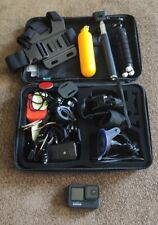 GoPro Hero 9 Black Action Camera with Huge Accessories Bundle Attachments.