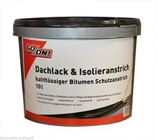 Dachlack - Isolieranstich 10 L GO/ON!