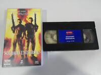 Soldat Universal Van Damme Dolph Lundgren Emmerich - VHS Ausgabe Spanisch