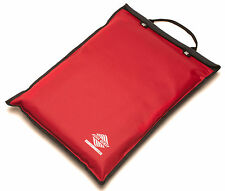 Aqua Quest Storm 17 - 100% Waterproof Durable Laptop Case/Sleeve Dry Bag - Red