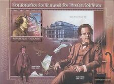 Togo Block592 (kompl.Ausg.) postfrisch 2011 Gustav Mahler