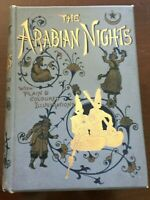 Victorian Deco THE ARABIAN NIGHTS' ENTERTAINMENTS c1890 Frederick Warne, London