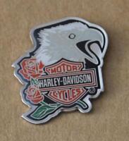 Harley original  Pin Anstecker Anstecknadel  Screamin Eagle Rose