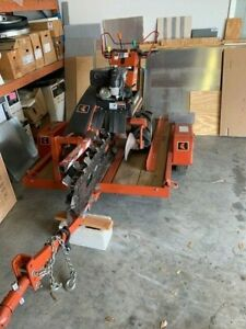 2006 Ditch Witch  Model 1030 Trencher And Trailer Excellent Condition