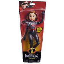 """NEW The Incredibles 2 Elastigirl Action Figure 11"""" Articulated Doll Silver"""