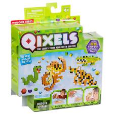New Qixels Jungle World 500 Cubes Refill Pack 4 Design Templates Official
