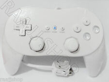 NEW WHITE CLASSIC CONTROLLER PRO JOYPAD GAMEPAD FOR NINTENDO WII CONSOLE