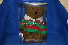 Brand New! Ralph Lauren 2005 Teddy Bear in Original Sealed box!