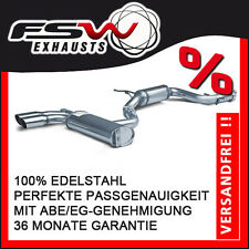 FSW Sport Auspuffanlage komplett ab Kat VW Golf 5 GTI inkl Edition ER76mm Rac-Li