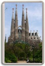 Sagrada Familia in Barcelona Fridge Magnet