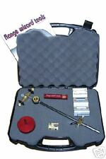 Flange Wizard #8910 Burning Guide Kit w/ Case 4 Pipe