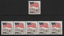 #2523c Plate #7 Strip Of 5 (Toledo Brown) Error Cv $200.00 Br3321