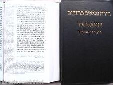 BIBBIA DEL RE GIACOMO testo a fronte in inglese e ebraico ANTICO TESTAMENTO KJV