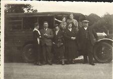 PHOTO VEHICULE UTILITAIRE AUTOMOBILE UNIC 1935