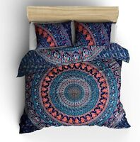 New Urban Outfitters King Cotton Mandala Duvet Quilt Cover Indian Doona Cover